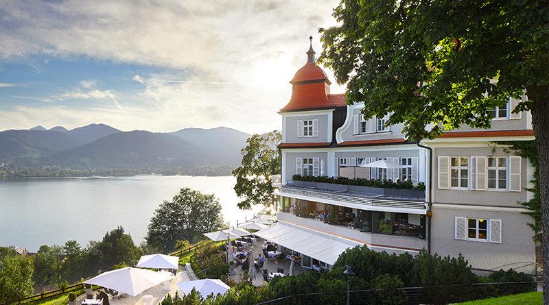 Das Tegernsee Hotel Tegernsee Bayern Rottach Egern Luxushotel oberhalb des Sees