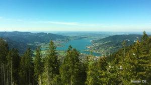 Wallberg und Tegernsee